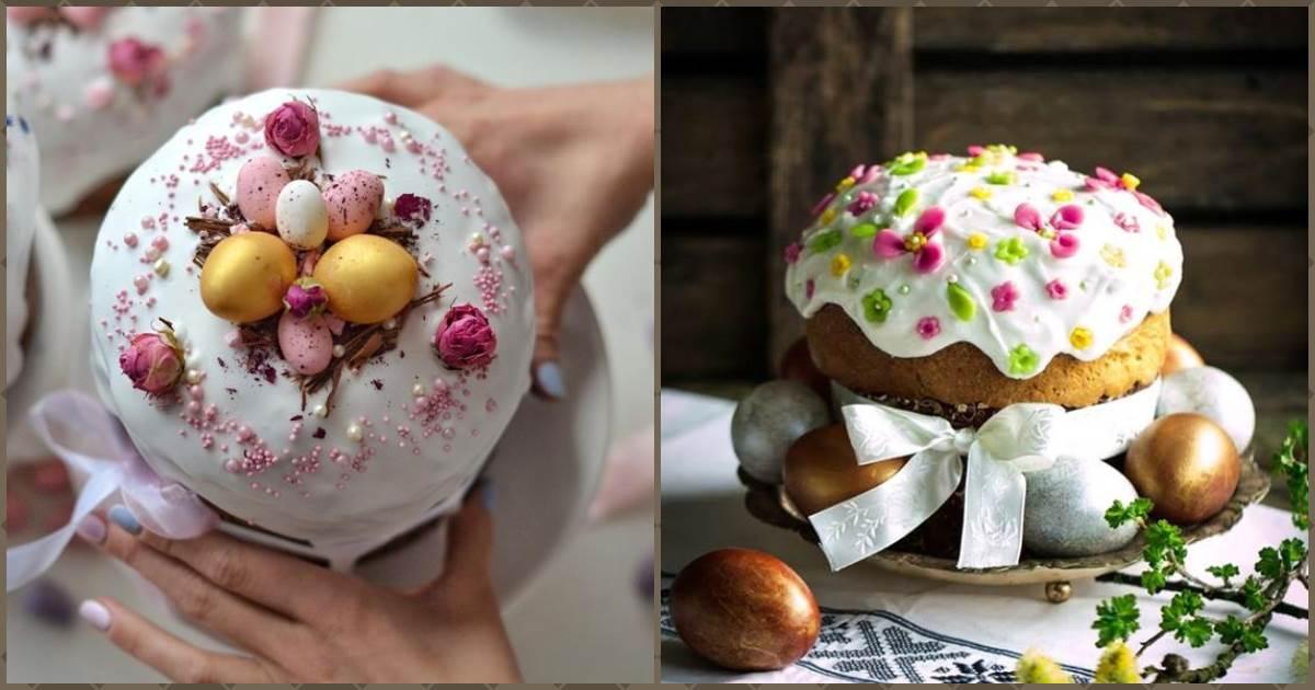 Прикрашаємо паску на Великдень: 11 красивих ідей