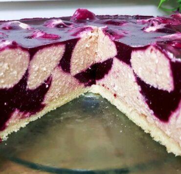 Сирний торт-суфле. Легкий і ароматний!