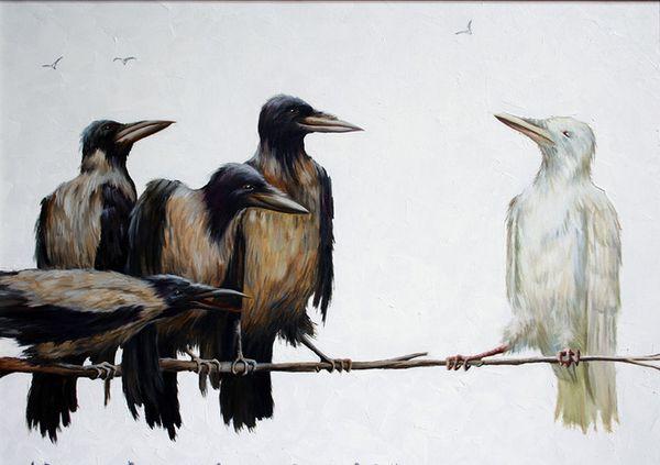 Повчальна притча про білу ворону, яка навчить вас не зважати на думку оточуючих