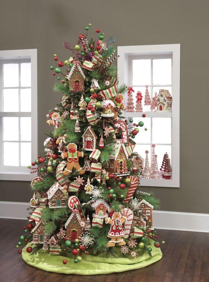 Різдвяний декор: 40 казкових ідей прикрашання маленької ялинки 11