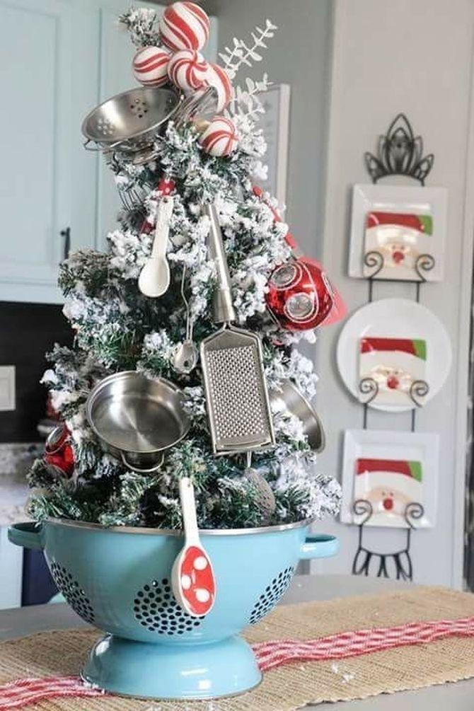 Різдвяний декор: 40 казкових ідей прикрашання маленької ялинки 9