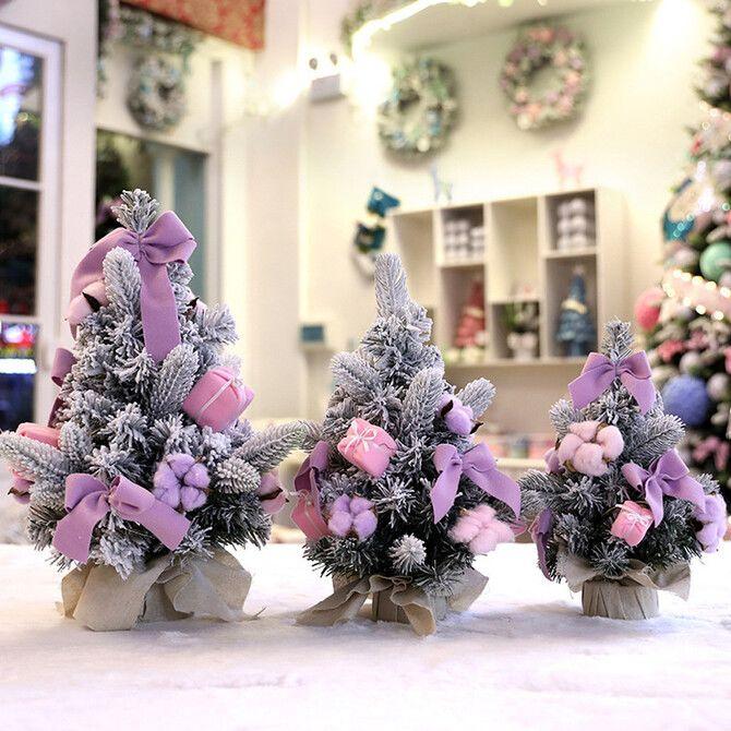 Різдвяний декор: 40 казкових ідей прикрашання маленької ялинки 24
