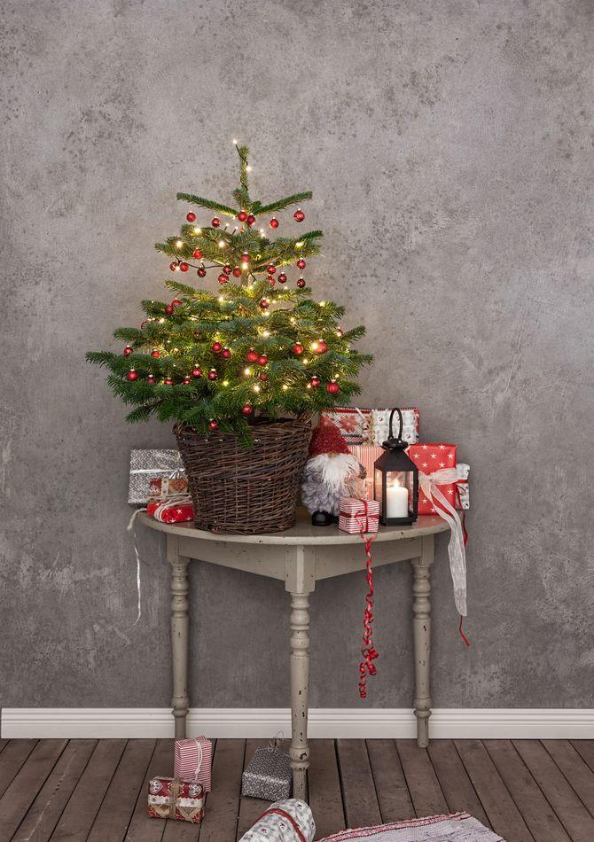 Різдвяний декор: 40 казкових ідей прикрашання маленької ялинки 40