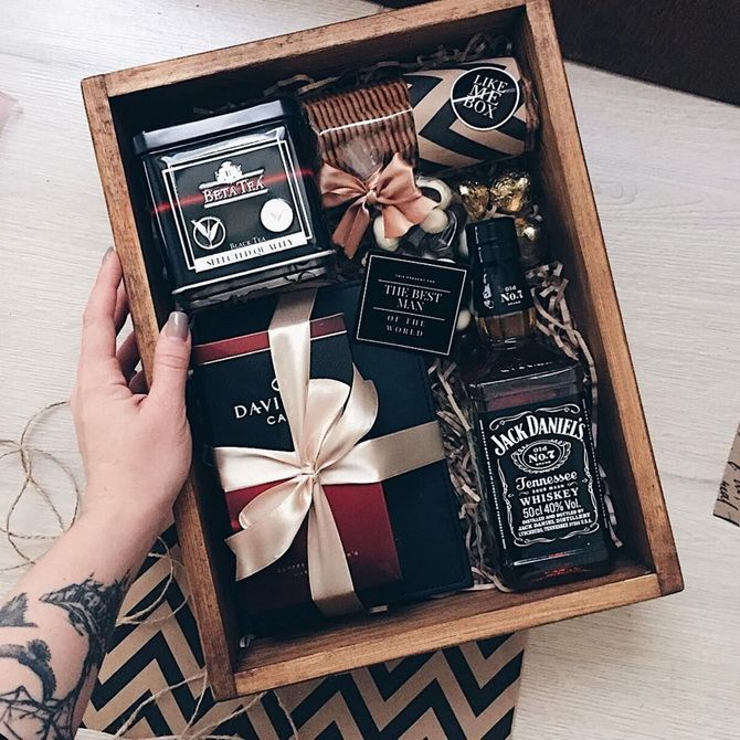 вкусный подарок на 14 февраля