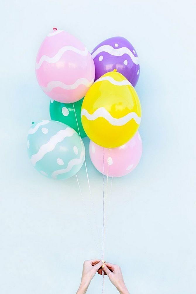 пасхальное яйцо своими руками из шариков
