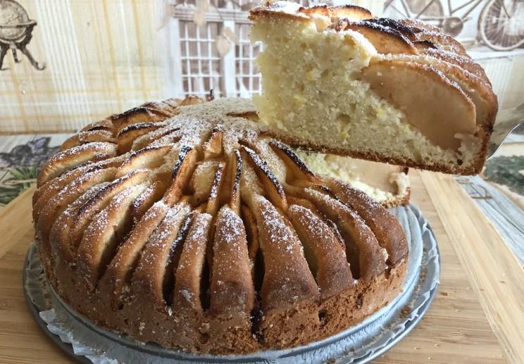 Найулюбленіший яблучний пиріг. Дуже простий рецепт до чаю